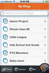 Organize your phone contacts with Ringya, you'll be so happy you did