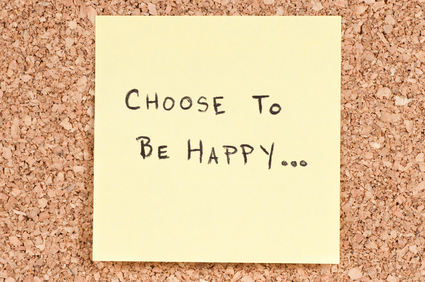 making positive change: choose to be happy
