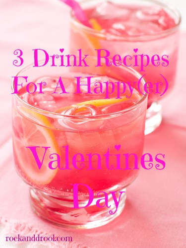 drinks for a happier valentines day rock and drool