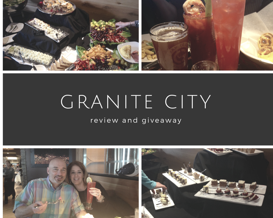 Granite City Northville, Michigan Review and Giveaway - ROCK AND ...